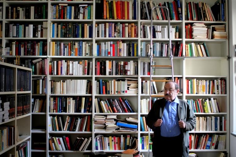 Biblioteca-de-Umberto-Eco